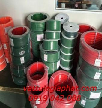 Dây nhựa PU phi tròn dạng cuộn-dây nhựa PU màu xanh,cam giá rẻ-